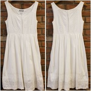 dELiA's Eyelet with Embroidery Dress